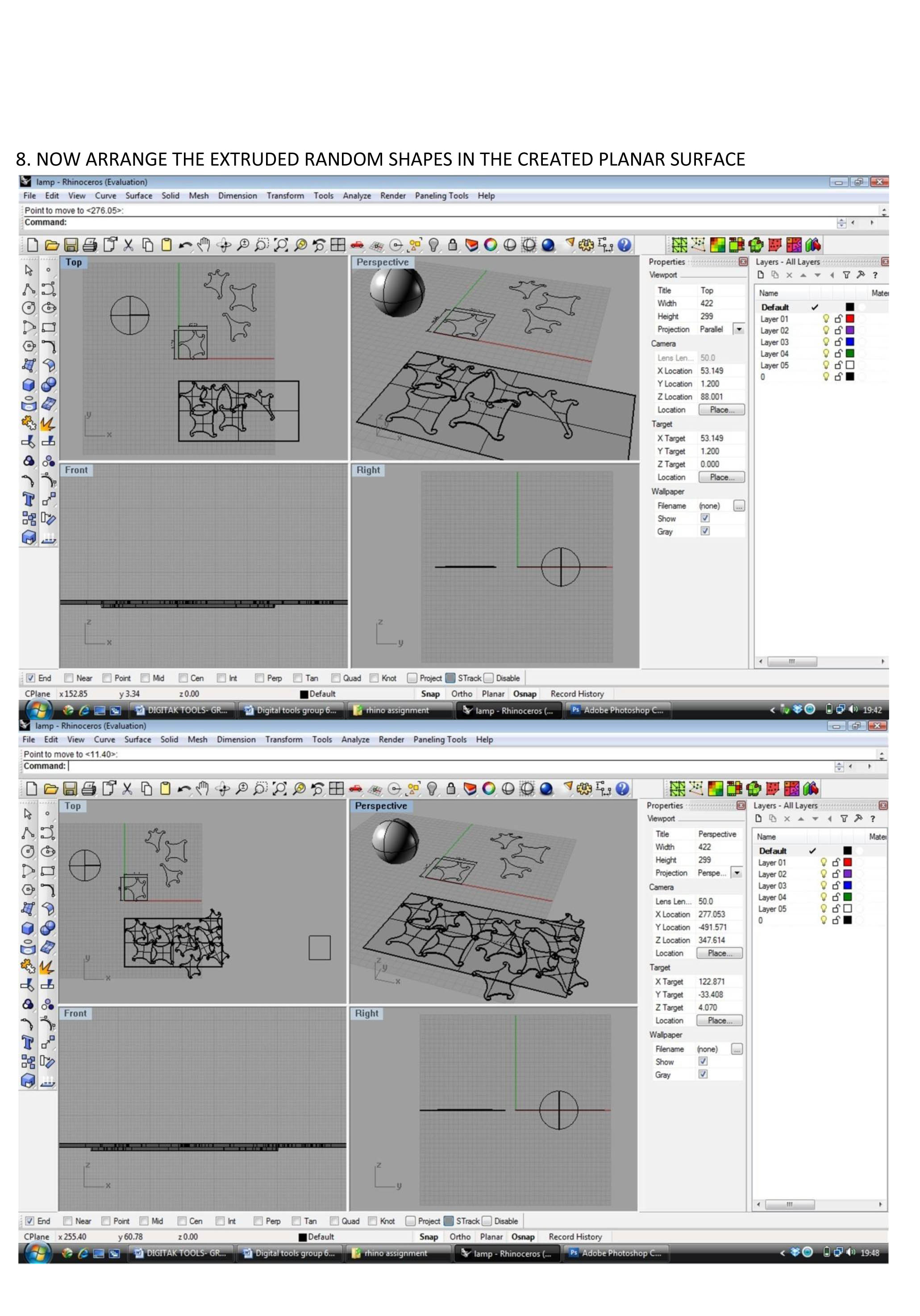 Rhino tutorial for Lazer cutter ::: Group 19 – IAAC Blog