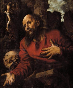 Saint Jerome at the Grotto