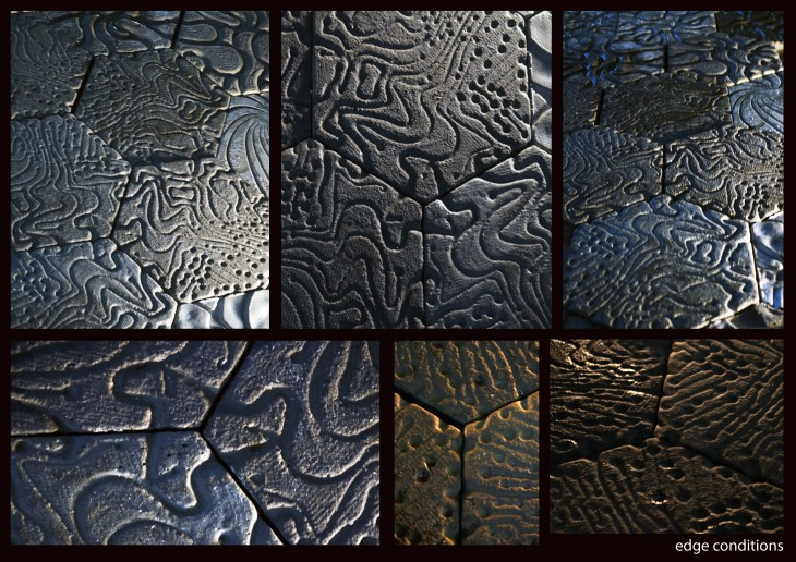 Processed tiles