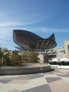 Peix Fish, Frank Gehry, Port Olimpic, 1992