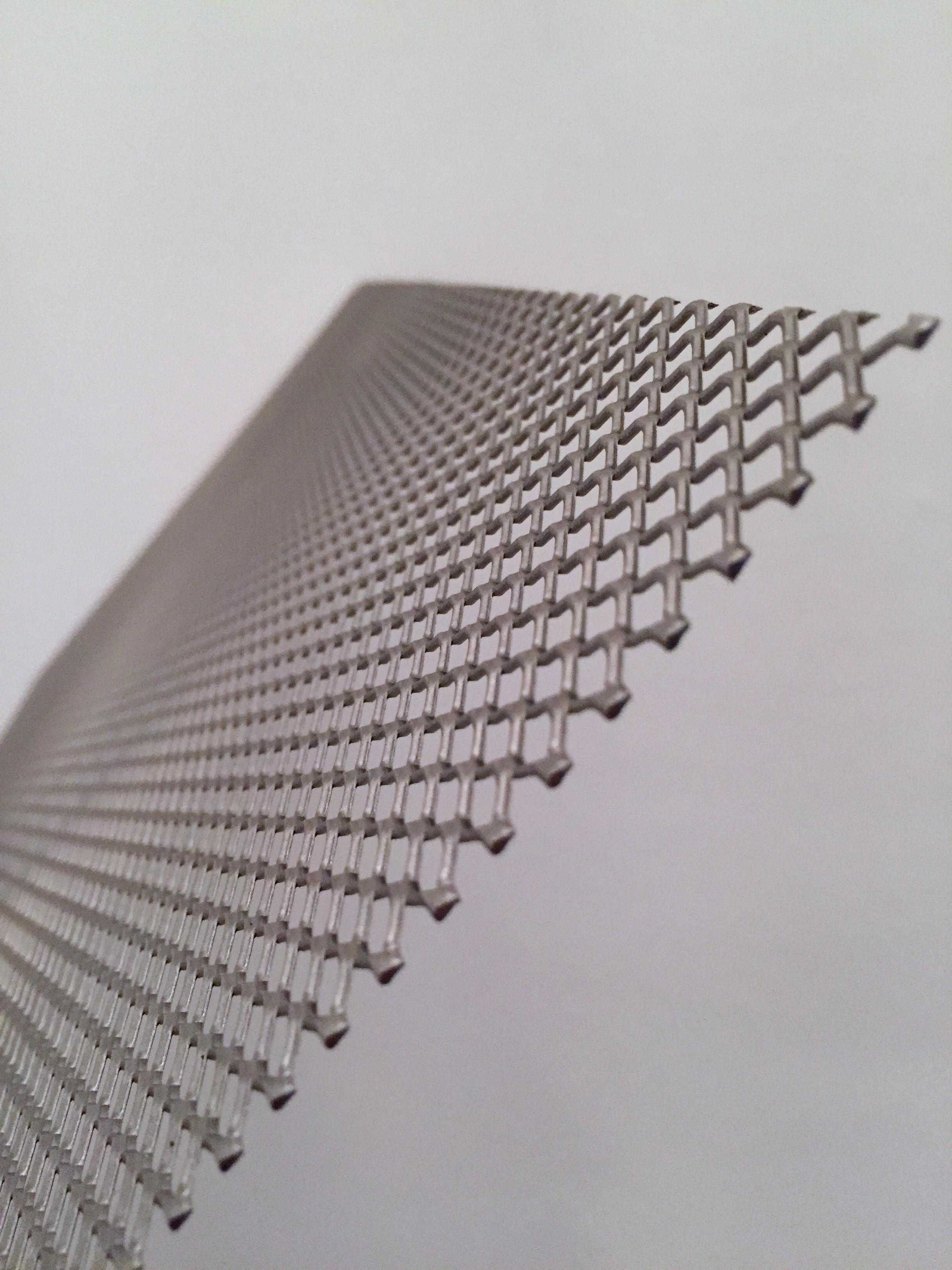 stretched mesh steel plate  u2013 iaac blog
