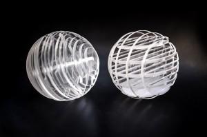 Digital Fabrication - Methacrylate Spheres using laser cutting
