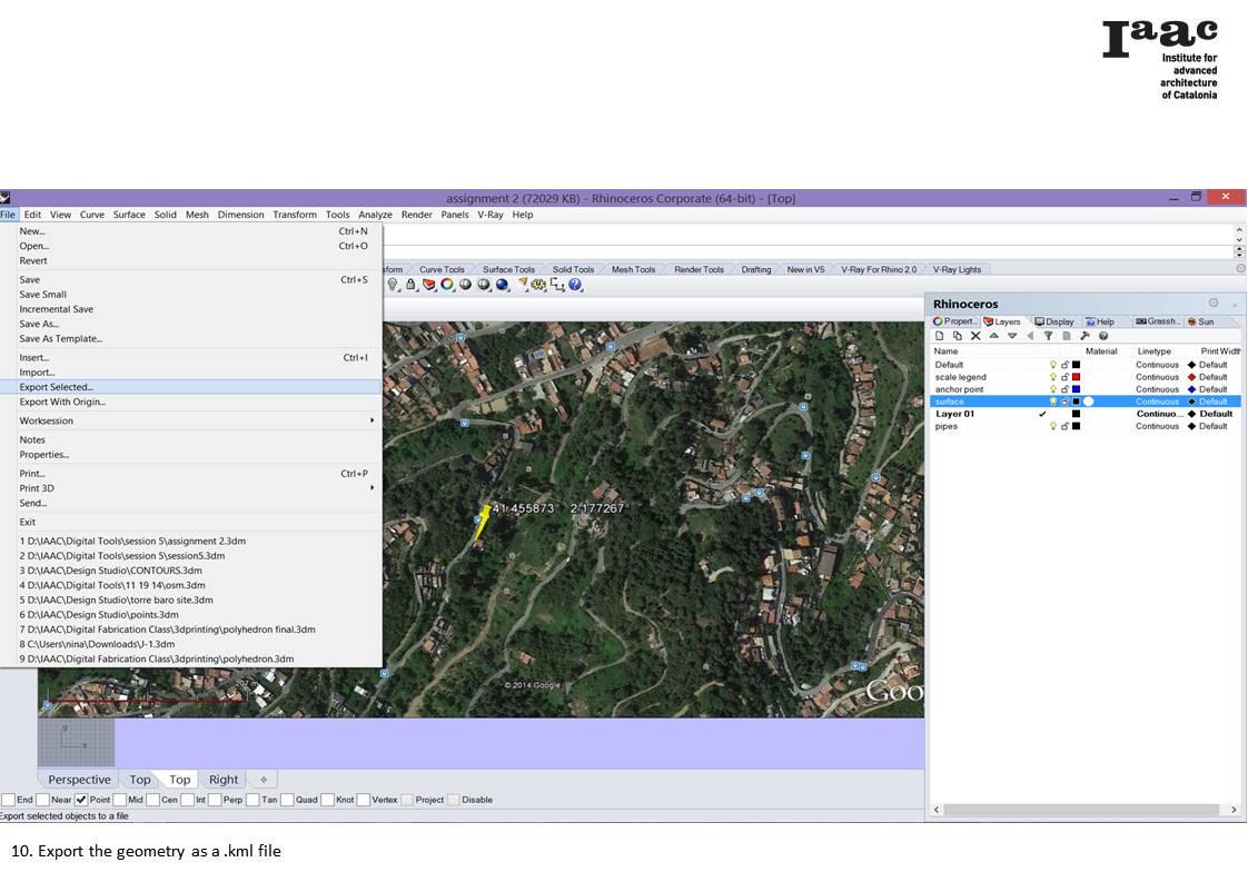 Make your mark - Geolocation (assignment 2) – IAAC Blog