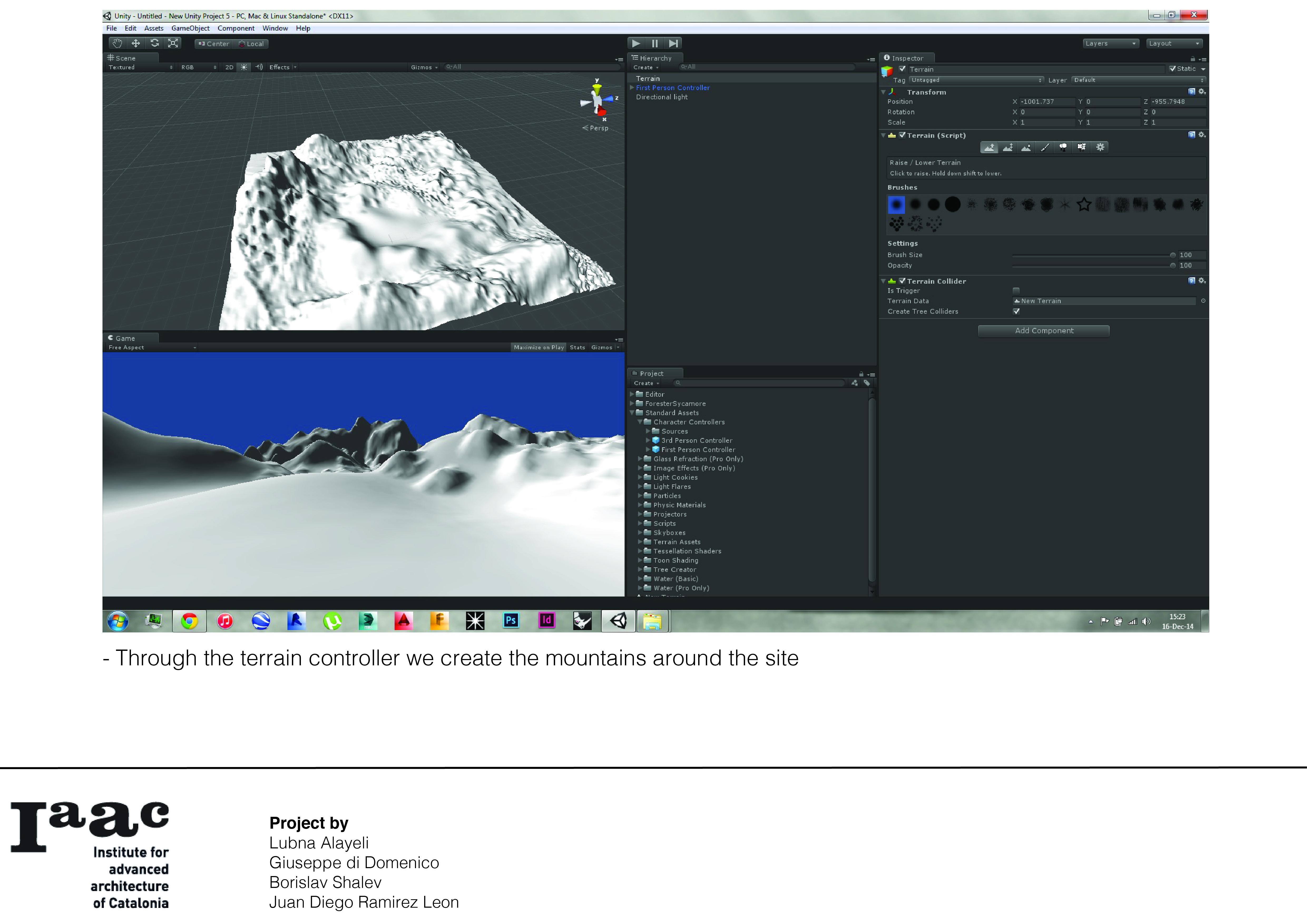 Gamification - Unity 3D – IAAC Blog