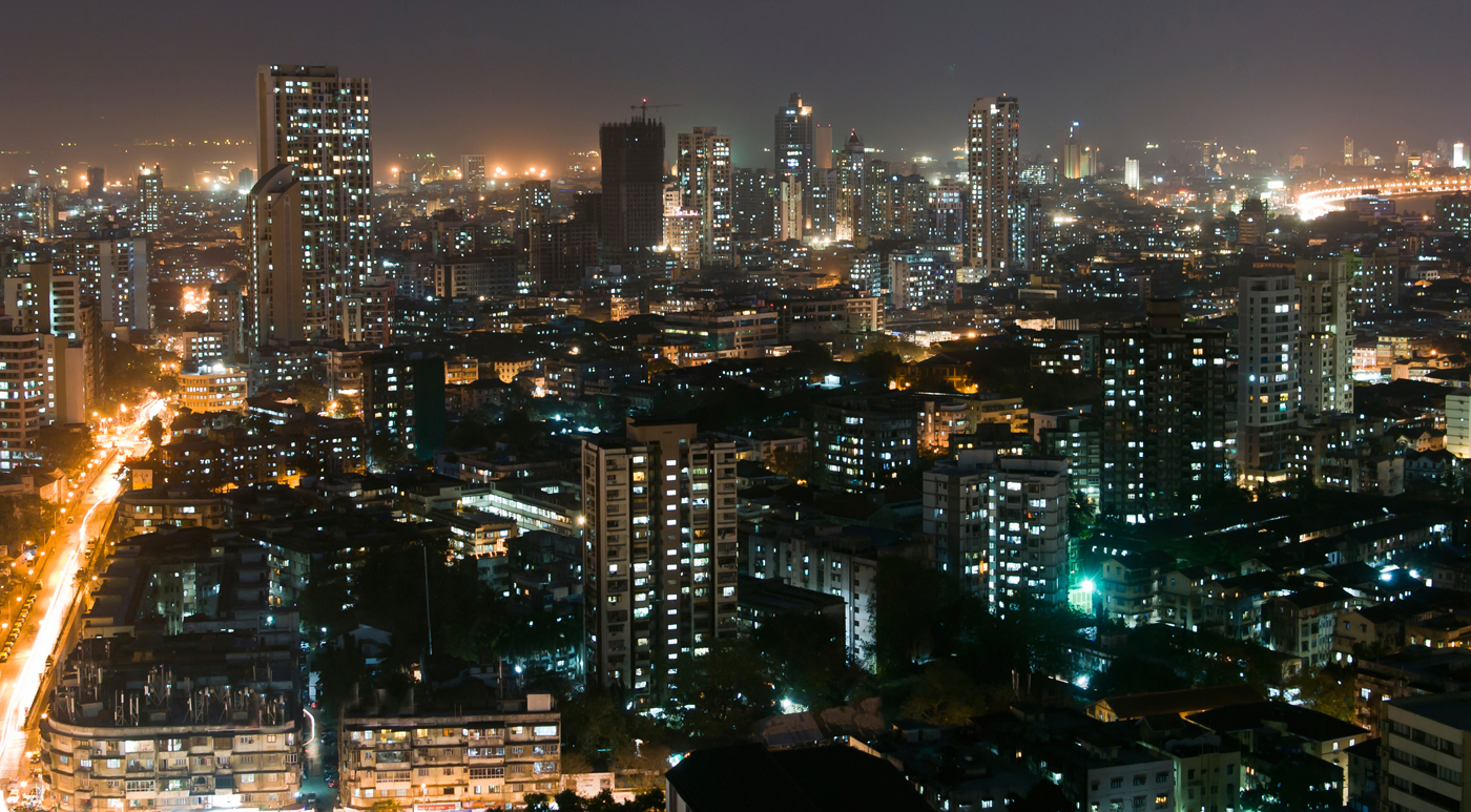 Mumbai India  city photo : Mumbai India at night