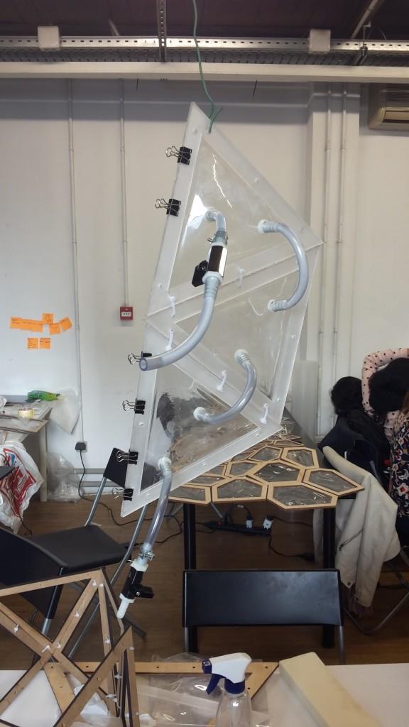 Prototype panelling - form study
