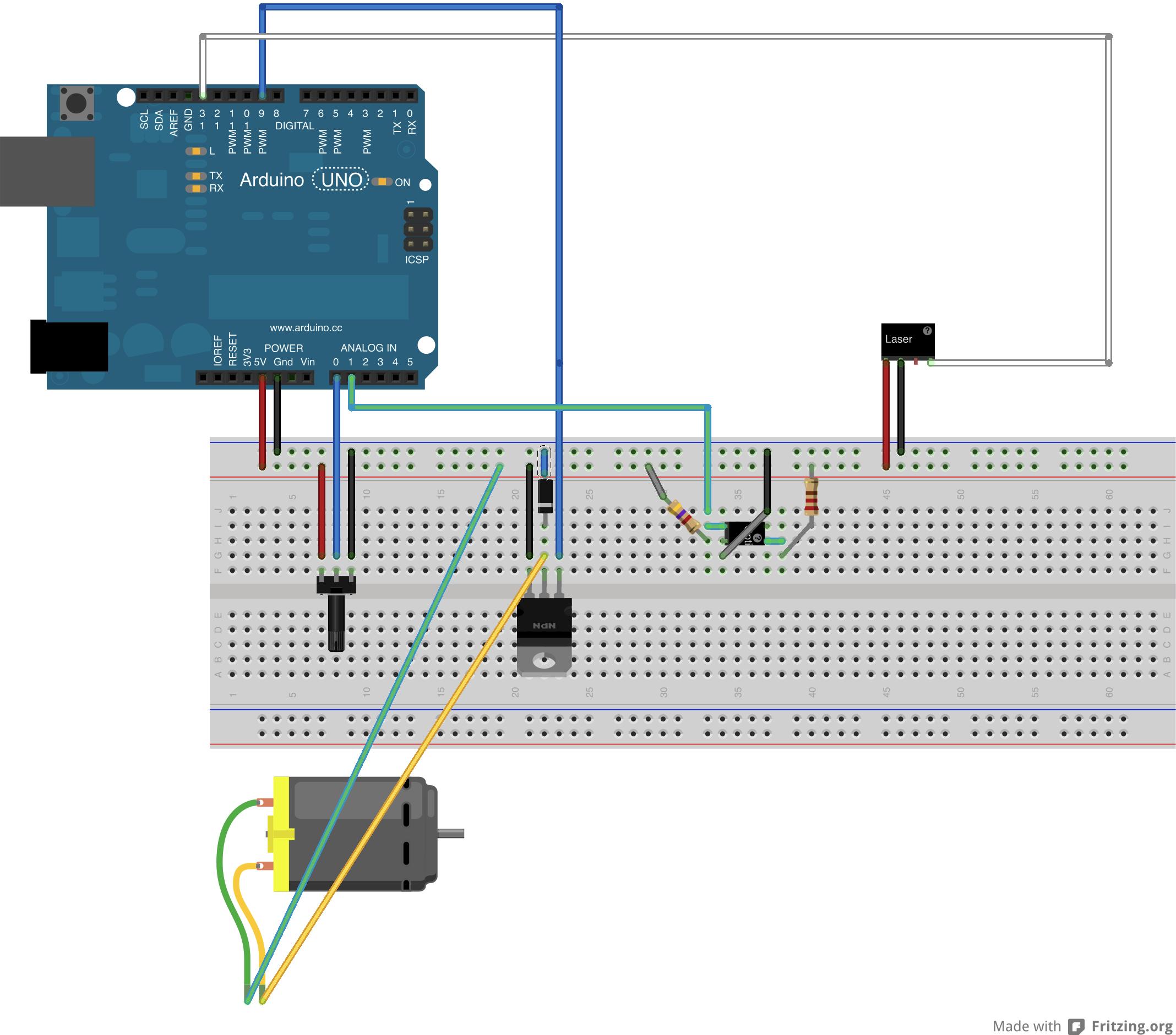 Laser projector project, part 2: electronics – IAAC Blog