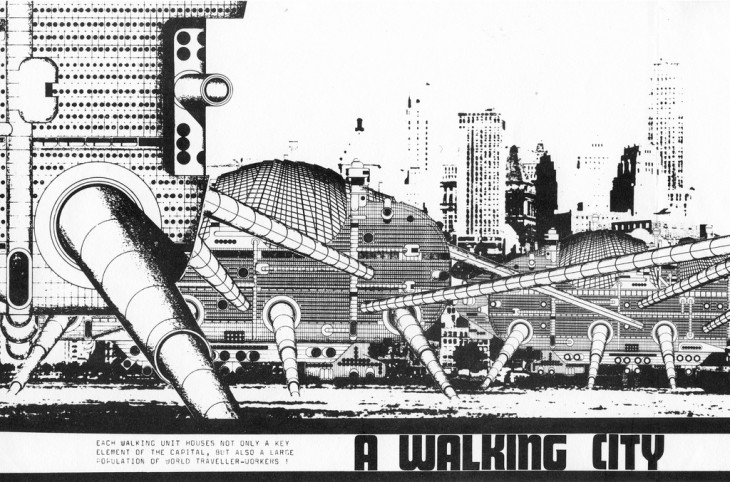 walking city - archigram