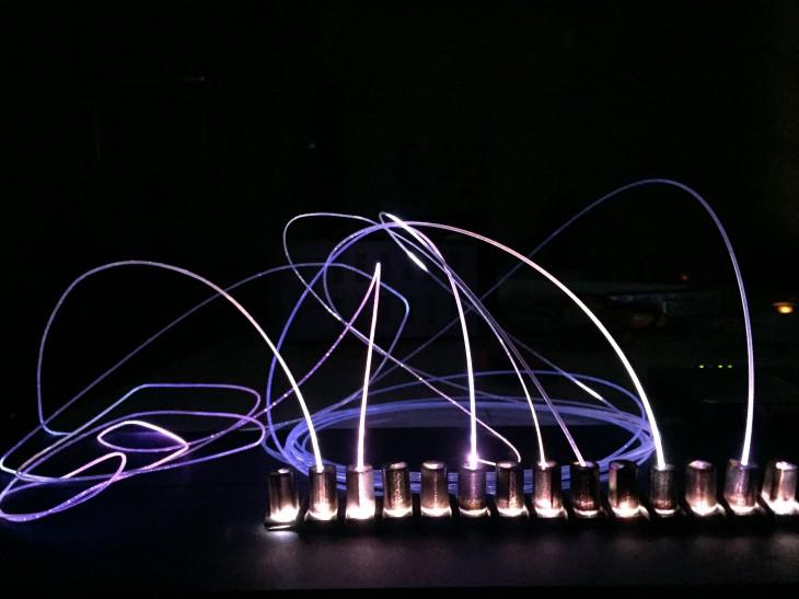 Detail for Fiber optics