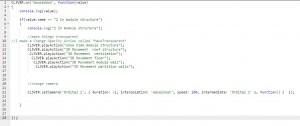 script module structure