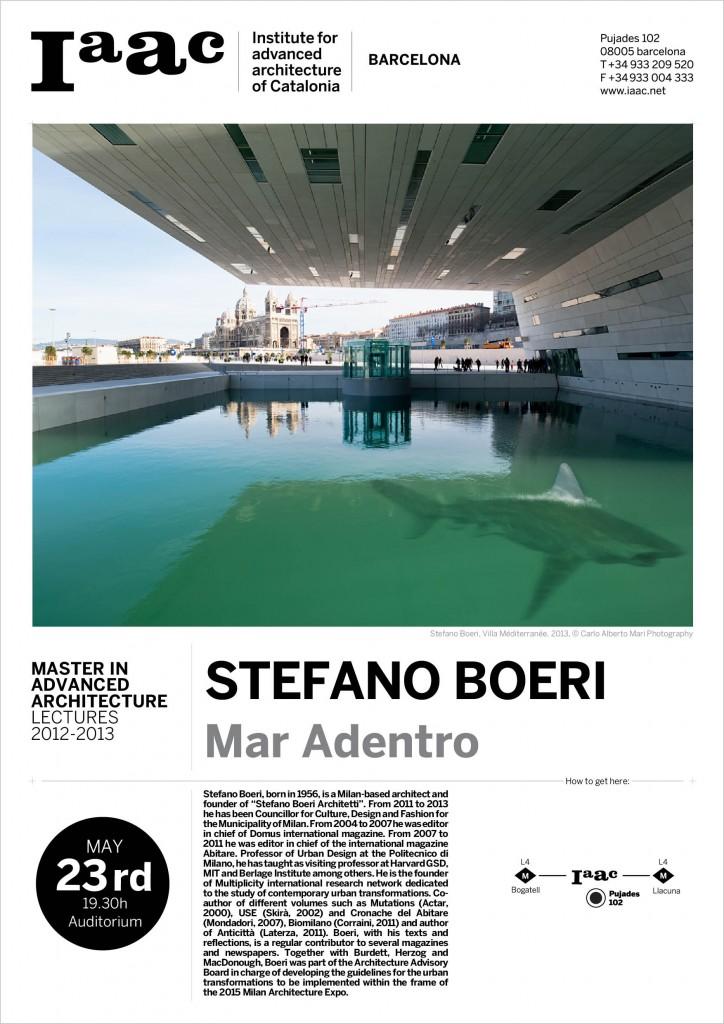 STEFANO BOERI at IAAC