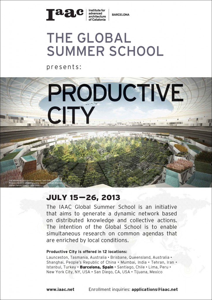 IAAC Global Summer School 2013