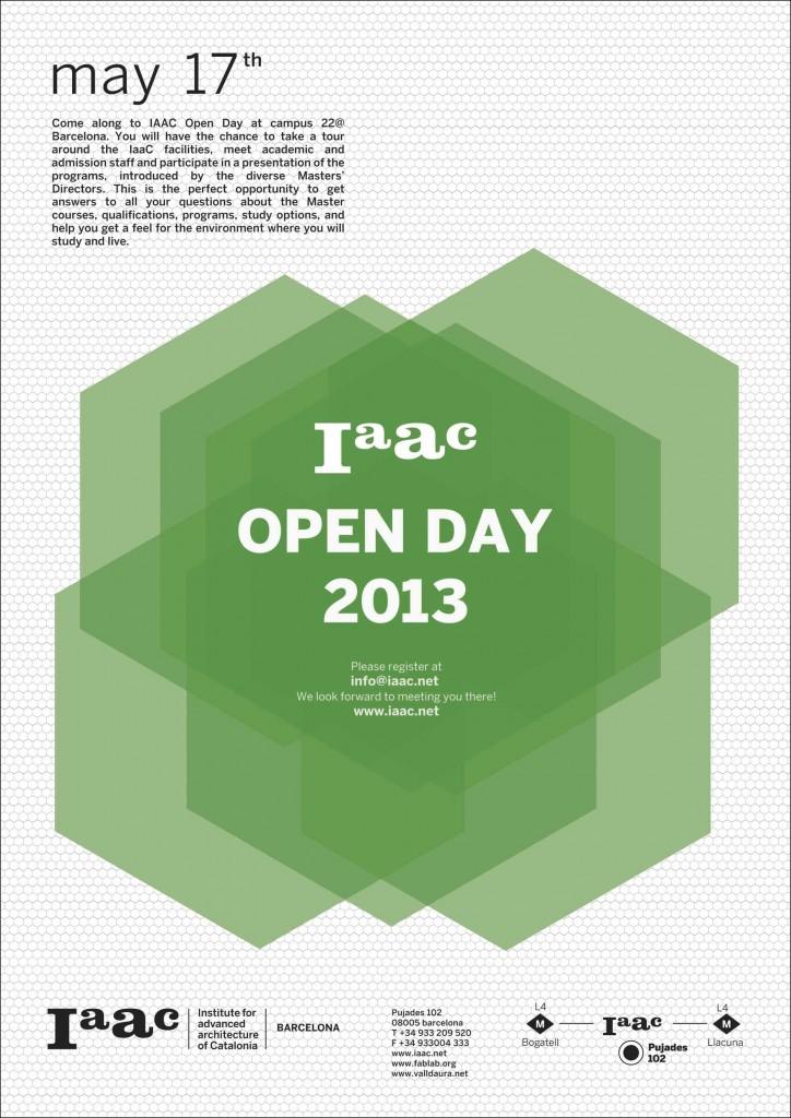 IAAC open day 2013