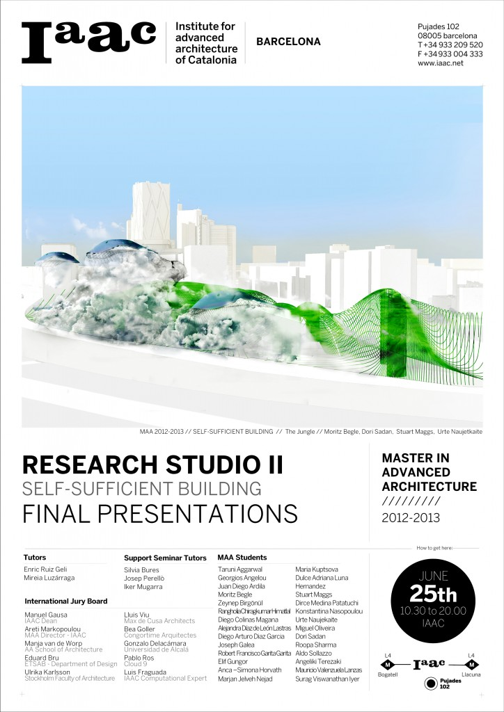 Self-Sufficent Building Research Line Final Presentation