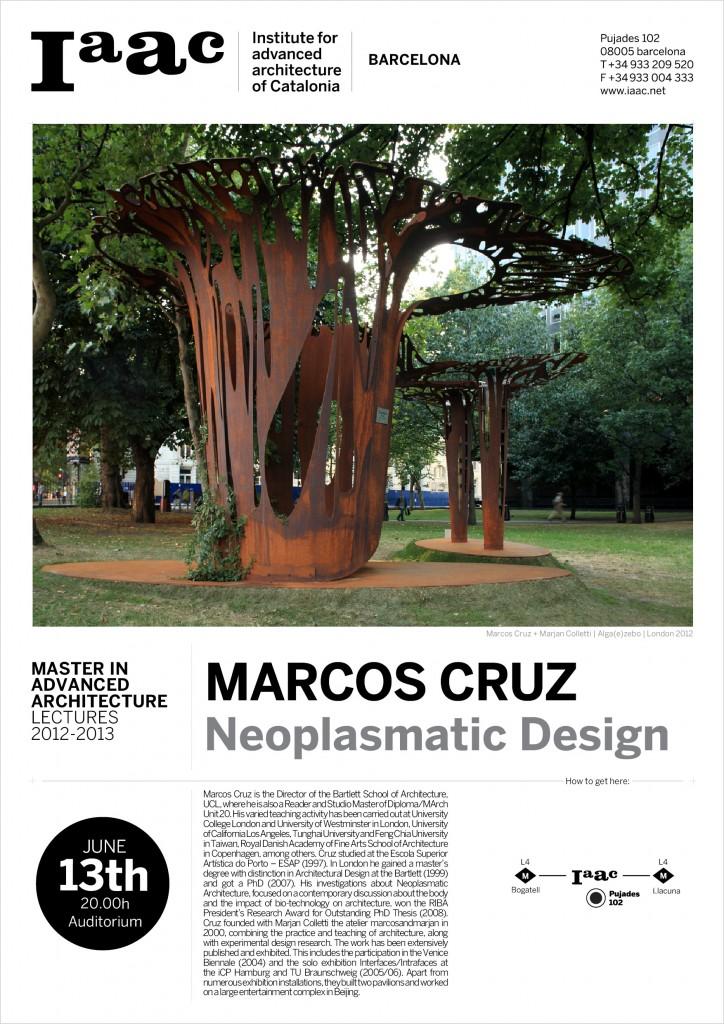 MARCOS CRUZ at IAAC