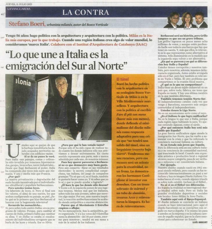 La Contra_ Stefano Boeri_2013