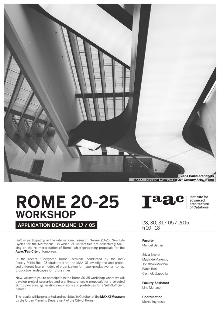 Rome 2025 workshop_IAAC